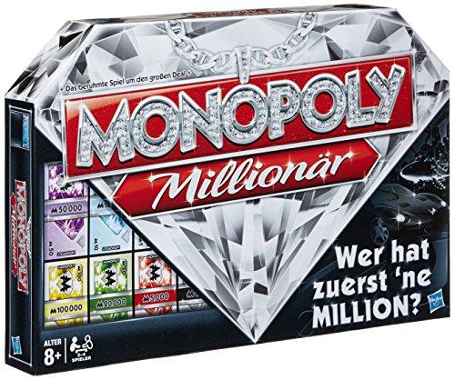 Hasbro Spiele 98838100 - Monopoly Millionär, Familienspiel