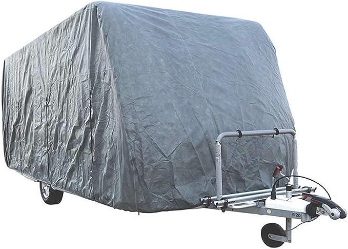 Hafix Wohwagen Wohnmobil Schutzhülle Cover Caravan Ganzgarage Abdeckplane 3 Lagig Veschiedene Größen Wohnwagen 520 580x225x220cm Auto