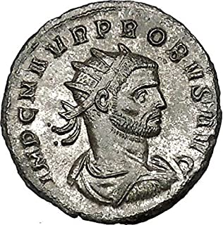 Probus 277AD Ancient Roman Coin Sol Sun God Goddess of forethought Cult i40570