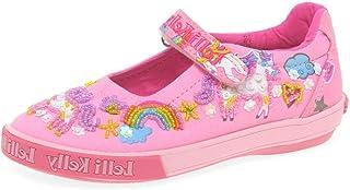 6d9de84981a2 Lelli Kelly Unicorn Dolly Girls Infant Canvas Shoes