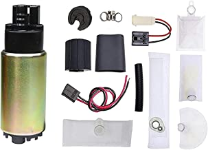 AP8336 Universal Electric Fuel Pump Installation Kit with Strainer Replace OE E2068 HFP-382 Fuel Pump Replacement for Vehicles