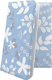 スマートフォンケース・Xperia J1 Compact D5788・互換 スマートフォンケース・手帳型 花柄 花 フラワー はながら 北欧 北欧柄 エクスペリア コンパクト 女の子 女子 女性 レディース XperiaJ1 かわいい 可愛い ...