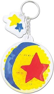ティーズファクトリー キーホルダー ピクサー・ボール H7.5×W6.5×D1.5cm ディズニー ジェルビーズ キーホルダー DN-5521554PB