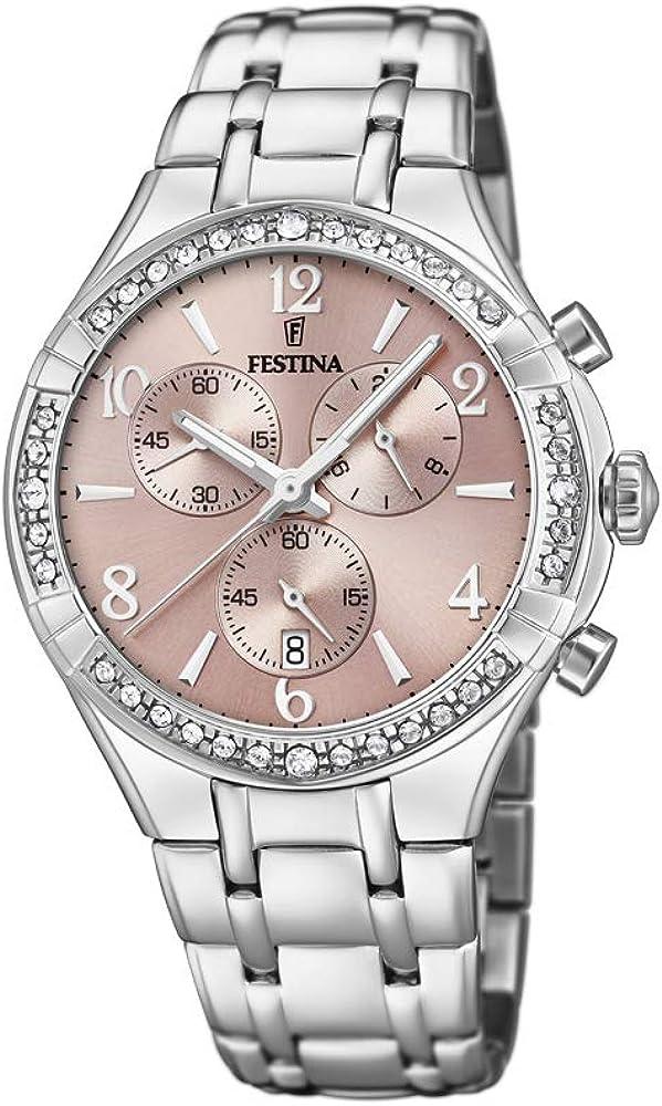 Festina orologio da donna in acciaio inossidabile F20392/3
