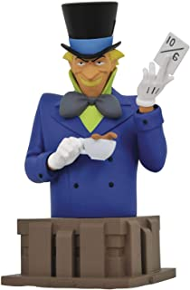 DIAMOND SELECT TOYS Batman The Animated Series: Mad Hatter Resin Bust, Multicolor