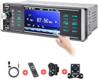 4.1 inch Single Din Touch Screen Car Stereo,Car Radio...