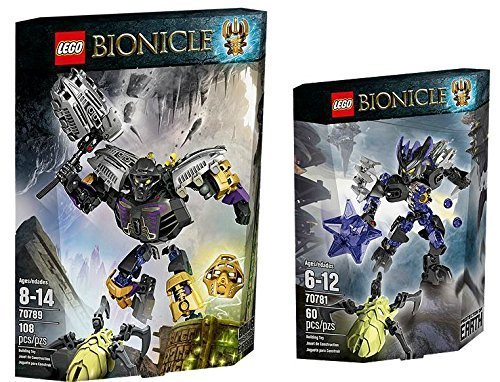 LEGO Bionicle Protector of Earth Power Up Set [70789, 70781] by LEGO