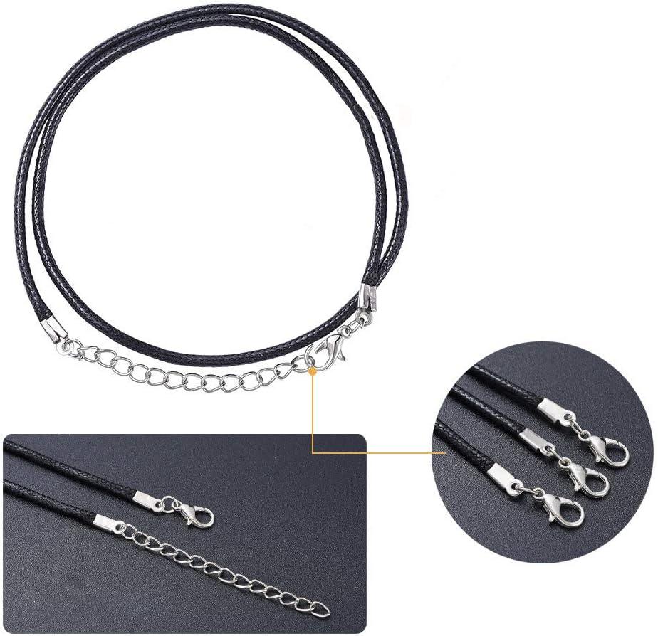 anillos de salto dise/ño vintage de pendientes de bronce envejecido extremos de cinta cierres de langosta Kit de fabricaci/ón de joyas para adultos ganchos para pendientes