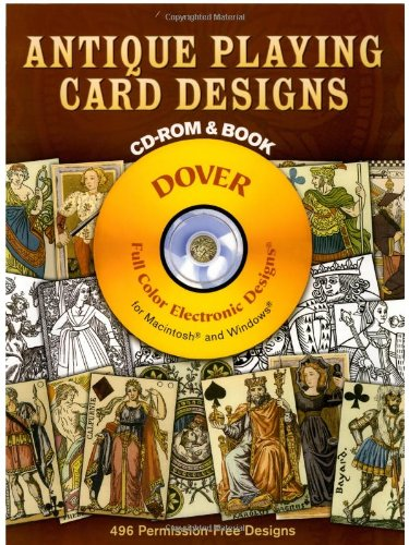Antique Playing Card Designs (Dover Electronic Clip Art)