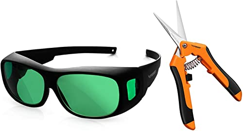 discount VIVOSUN Indoor online Hydroponics lowest LED Grow Room Glasses and 6.5 Inch Gardening Hand Pruner Pruning Shear outlet online sale