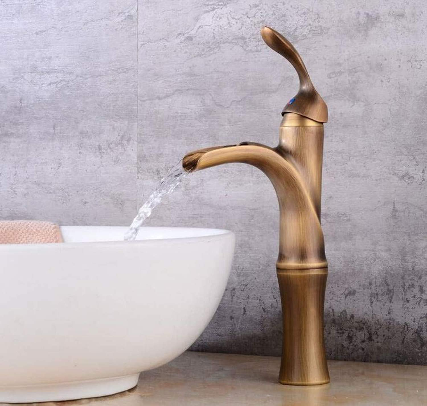Bathroom Faucet Copper Hot and Cold Kitchen Sink Taps Kitchen Faucet Basin Heightening Faucet