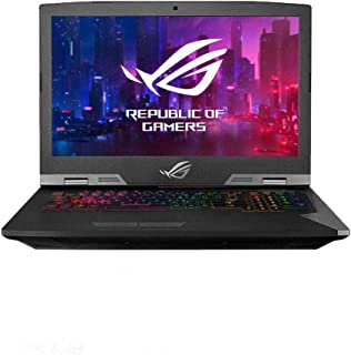 Asus ROG G703GXR-EV015T Gaming Laptop (Titanium) - Intel i9-9980HK 2.4 GHz, 32GB RAM, 1500 GB SSD, NVidia GeForce RTX 2080,17.3 inches, Windows 10, Eng-Arb-KB