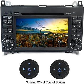 XISEDO Android 7.1 Autoradio 7' Car Radio 2 Din Autonavigation RAM 2G Car Stereo mit DVD Player Moniceiver für Benz A W169, B W245, Sprinter, Viano, Vito Unterstützt Lenkradkontrolle, Mirro link