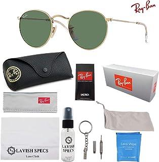 71095e4c00 Ray-Ban RB3447 Round Sunglasses Luxury Bundle Kit