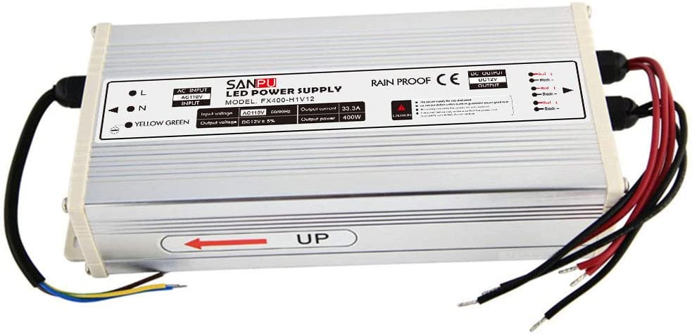 JMWaaBong Indefinitely Switch Mode Power Supply Voltage 33A Max 75% OFF 400W Constant 12V