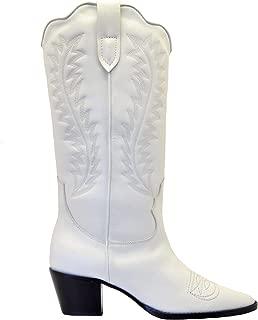 PARIS TEXAS Luxury Fashion Womens PX174WHITE White Boots  