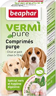 Beaphar - Tabletas antiparasitarias Naturales Perro y Gato pequeños