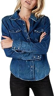 One Teaspoon - Women's Savannah Denim Shirt - Blue Cult