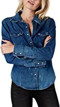 One Teaspoon - Women's Savannah Denim Shirt - Blue Cult - S