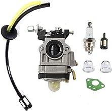 HQparts Carburetor for Thunderbay Y43 Auger Power Head Y2007 Mini Cultivator 430025 Carb Fuel Line Grommet Spark Plug