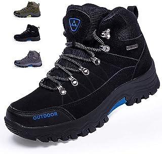 [VITIST] 2020新番 トレッキングシューズ メンズ ハイキングシューズ 防水 登山靴 アウトドアシューズ キャンプシューズ 革 防滑 3e ハイキング 靴 軽量 大きいサイズ 24.0cm-28.0cm