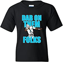 Dab On Them Folks Football Sports Dance Funny DT Youth Kids T-Shirt Tee