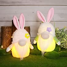 Light up bunny gnome