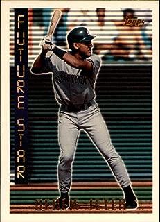1995 Topps #199 Derek Jeter Future Star MLB Baseball Trading Card New York Yankees