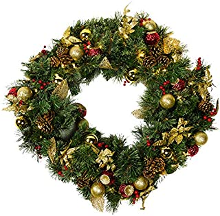 Best outdoor christmas wreath with lights Reviews