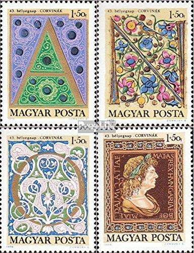 Prophila Collection Ungarn 2603A-2606A (kompl.Ausg.) 1970 Tag der Briefmarke (Briefmarken für Sammler)