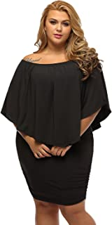 Gloria&Sarah Women's Sexy Off Shoulder Ruffles Multiple...