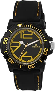 Maxima Hybrid Analog Black Dial Men's Watch - 29735PPGW