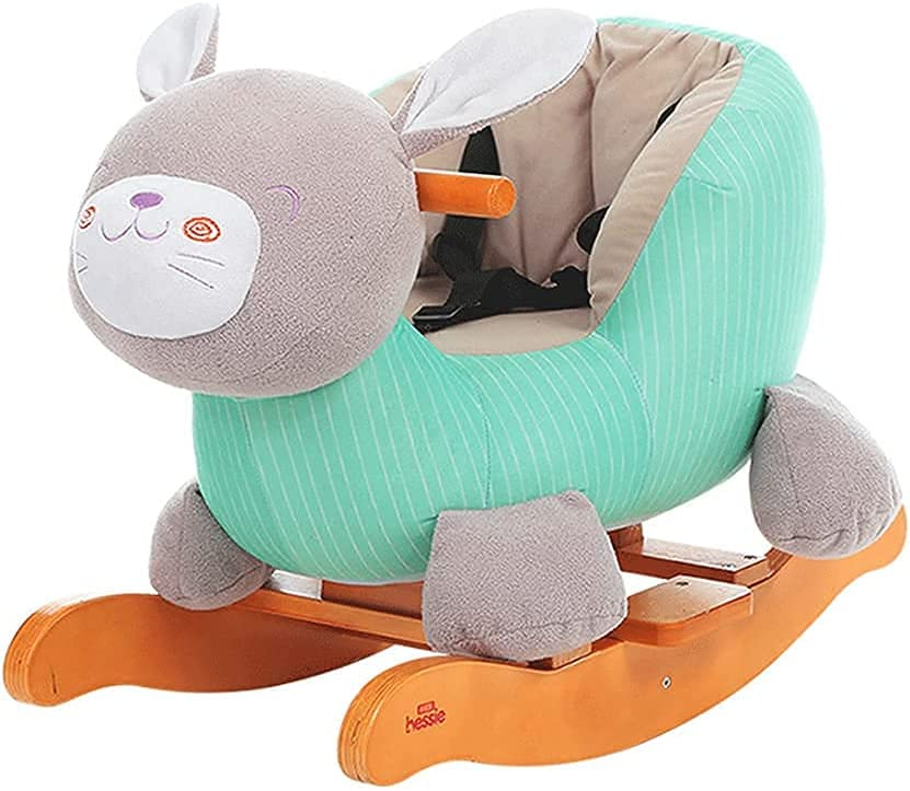 LUXMAX Cute Baby New arrival Rocking Chair Ride-On Stuffed Animal quality assurance Kids Plush