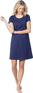 PajamaGram Short Sleeve Pullover Nightgown - Women