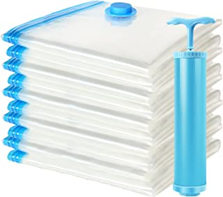 Storage Bags,10 Pack Space Saver Bags,Dust Proof Vacuum Storage Bags for Clothing, Outdoor...