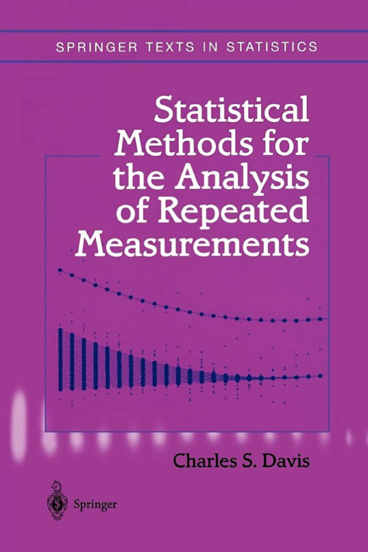 拷問路地ロールStatistical Methods for the Analysis of Repeated Measurements (Springer Texts in Statistics)