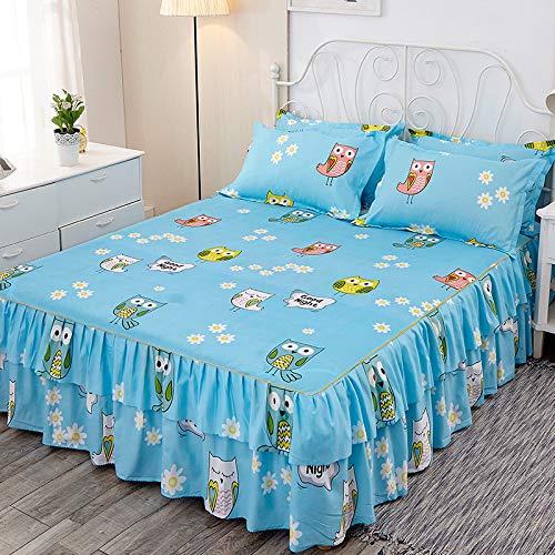 Hllhpc prinses rok bed cover enkel stuk bed cover bed cover vier seizoenen universele