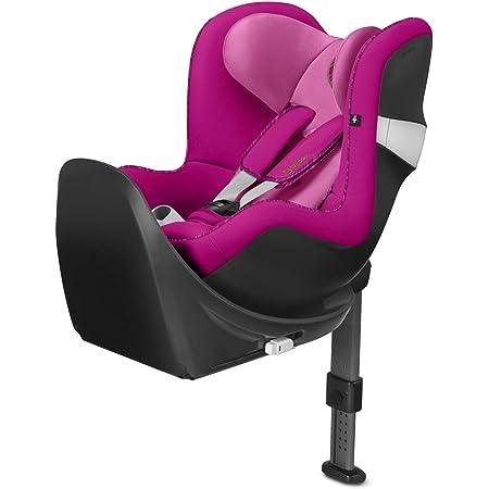 Cybex - Silla de coche grupo 0+/1 Sirona M2 i-size, desde el nacimiento hasta los 4 años, de 45 cm hasta 105 cm aproximadamente, 19 kg máximo, con base M, Rosa (Fancy Pink)