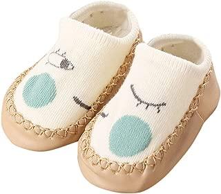 Hunputa Kids Infant Toddler Cute Unisex Baby Rabbit Cartoon solid Anti-Slip Warm Socks