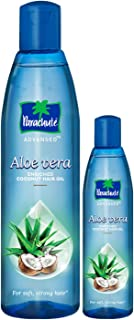 Parachute Advansed Aloe Vera Enriched Coconut Hair Oil, 250 ml with Free 75 ml Pack