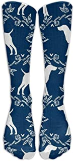 German Shorthair Pointer Dog Compression Calcetines for Wome and Men,