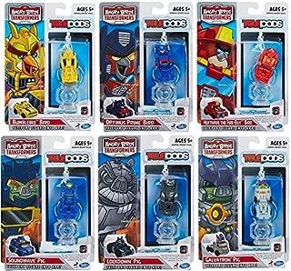 Angry Birds Transformers Telepods Bundle of 6 Optimus Prime Bumblebee Heatwave Galvatron Soundwave Lockdown Pig Bird