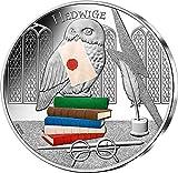 Hedwige Harry Potter Moneda Plata 50€ France 2021