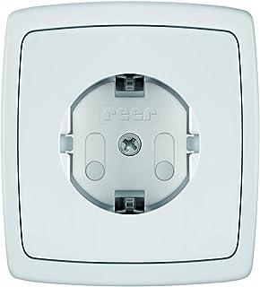 Reer stopcontactbescherming, schroefbaar, 20 stuks, wit