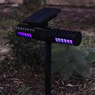 JOYWAY-Blue carbon Solar Mosquito Killer Lamp Outdoor Waterproof Villa Yard Garden LED Light Lawn Camping Lamp Large Bug Z...
