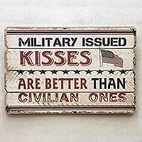 【アメリカン ウッド サインボード KISSES キッス】WD-015 ビンテージ メッセージ看板 木製看板 案内看板 アメリカ看板 看板 ガレージアメリカン雑貨 アメリカ雑貨 USA