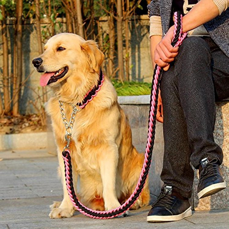FinerMe Big Dog Leash /Dog Chain /Traction Rop regolabile Loop Slip Pet Dog Leashes Rop e Snap Training Leach Leach Leach Leach Leach Leash Leash Leash Training Leach Leach Leach Leach Leash Rope Leash Leash Leash Leashes e Leash Training Leach Leach Leac