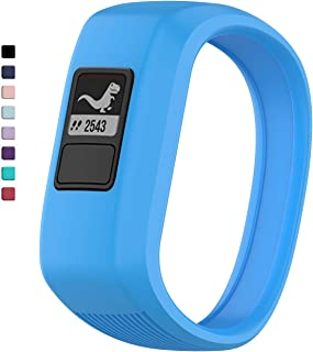 TERSELY Replacement Band Strap for Garmin Vivofit JR 3 Junior 2, Soft Silicone Rubber Wrist Strap Watch Band Bracelet for VIVOFIT 3 JR Junior 2 1 Kids Fitness Tracker - Blue