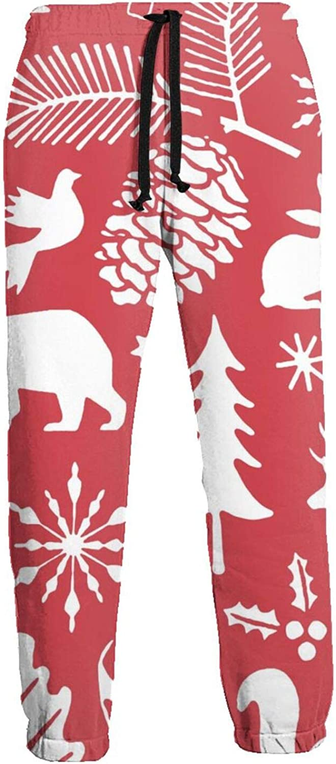 Jiulong Pink Christmas Doodle from Husband My Seasonal Wrap Introduction Men's Casual Cotto Max 74% OFF