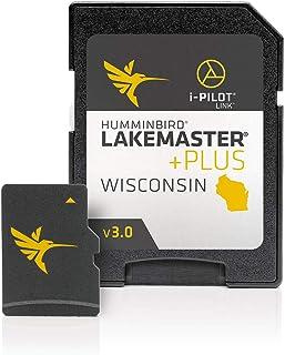 Humminbird 600025-8 LakeMaster Plus Wisconsin V3 Digital GPS Maps Micro Card photo